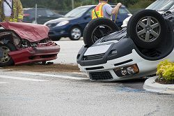 Rollover car accidents have high rates of catastrophic and fatal injuries
