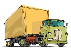A business may be held liable when its truck driver causes a traffic accident