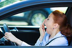 Driving while drowsy risks serious—even fatal—traffic accidents