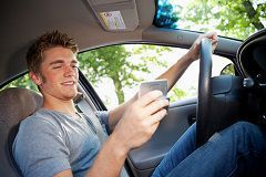Texting while driving is a risky habit for yourself and for others