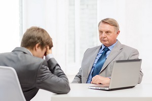 Conflict arises during a consultation with a lawyer