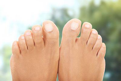Healthy feet.