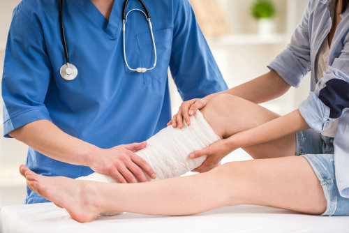Sports injuries sometimes need surgery