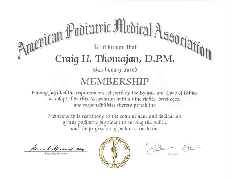APMA Member