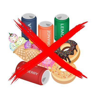 Avoid sweets