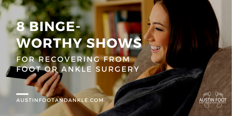 Binge-Worth Shows for Surgery Recovery