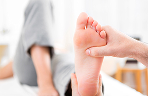 Where does your foot hurt?