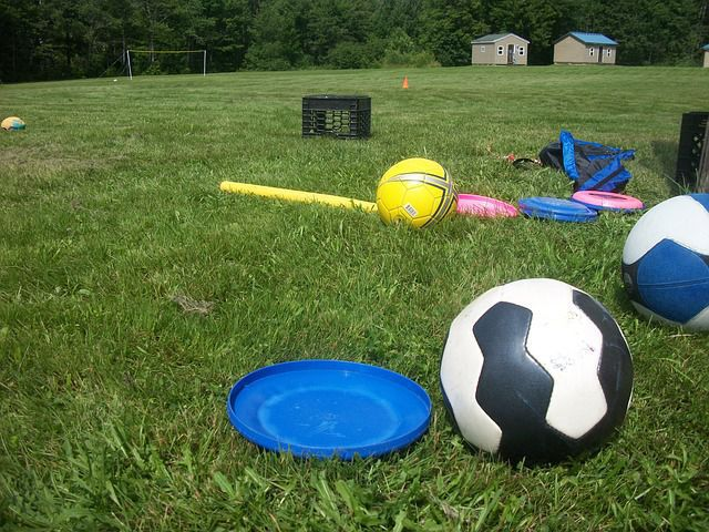 Soccer and Frisbee