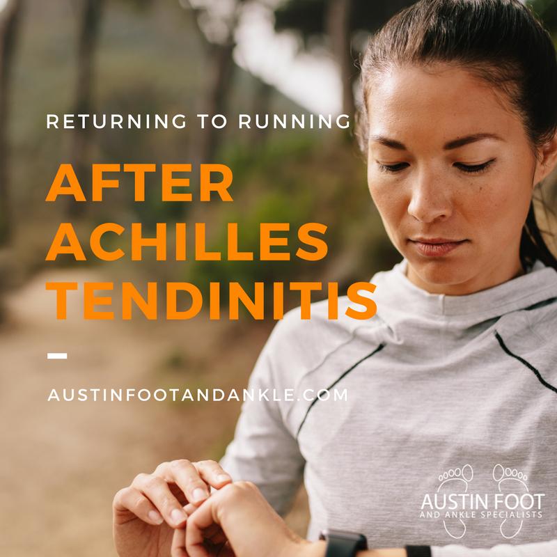 Running after Achilles Tendinitis