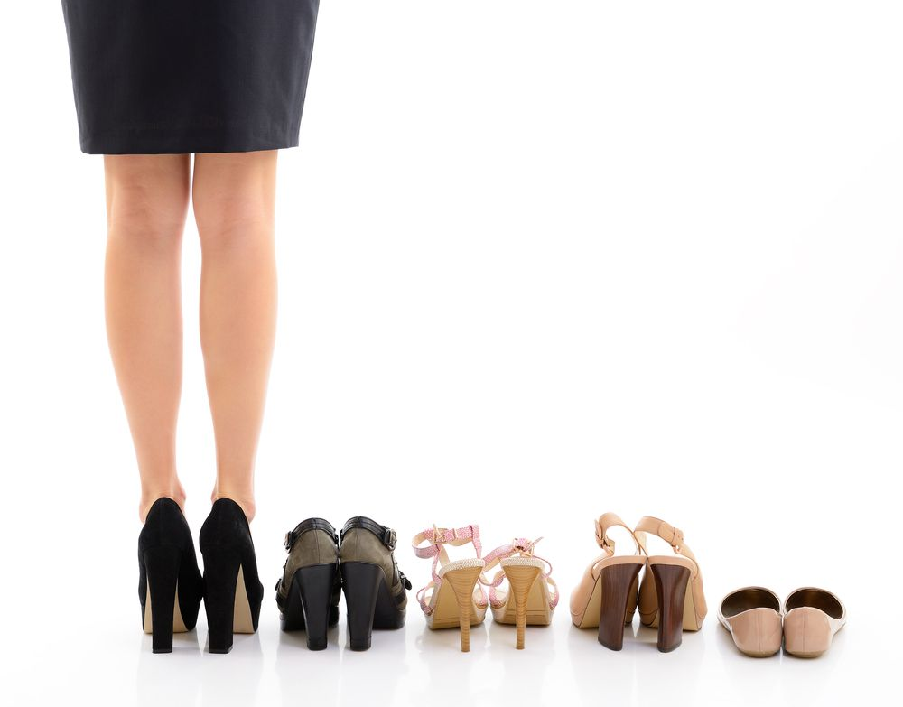 High heels can impact the health of your feet in the form of calluses, bunions, blisters and ingrown nails.