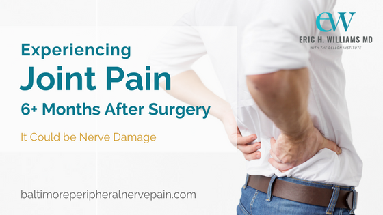 Joint pain after surgery