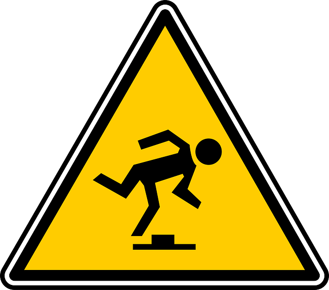 What do you have to prove for slip and fall cases?