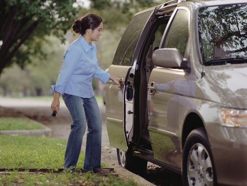 Will keeping your car door open too long subect you to a traffic ticket in Virginia?