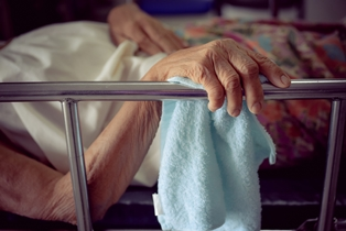 Malnourished Elderly Resident at a Nursing Home