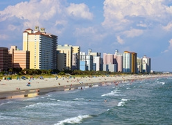 View of Hotels and Resorts in Myrtle Beach