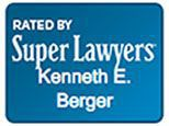 Rated by Super Lawyers Kenneth E. Berger badge