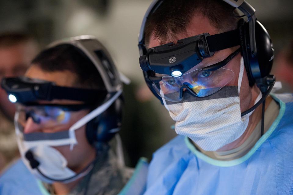 doctors preforming surgery