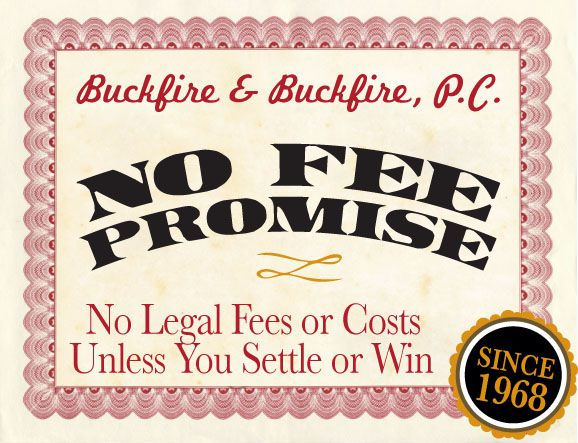 No Fees Unless You Win Lawsuit Guarantee