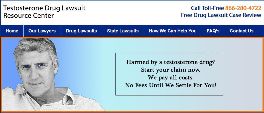 Testosterone Drug Lawsuit