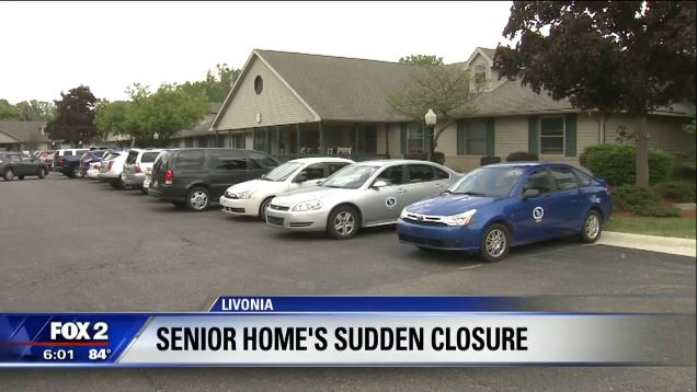 Livonia senior center