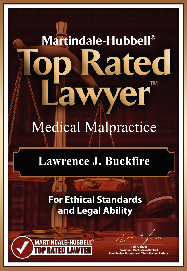 lawrence buckfire medical malrpactice attorney