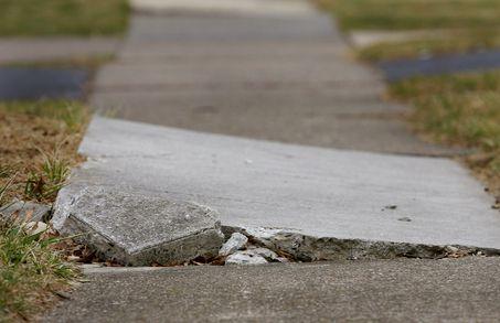Muskegon Broken Sidewalk Injury Lawyer