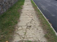 Saginaw Broken Sidewalk Inury Lawyer