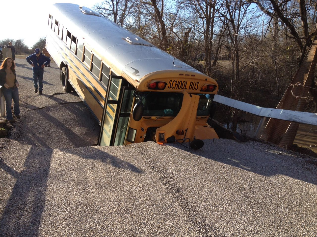 types of michigan school bus accidents