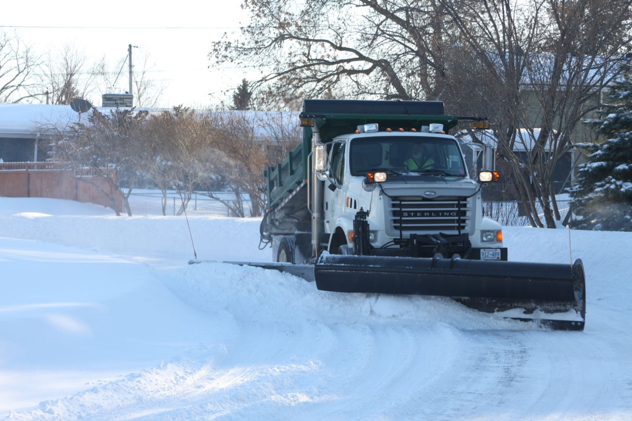 michigan snow plow truck accidents