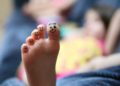 Children need happy and healthy feet.