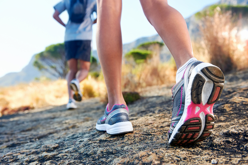 caring for athletes foot from running