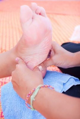 Massage for Heel and Arch Pain