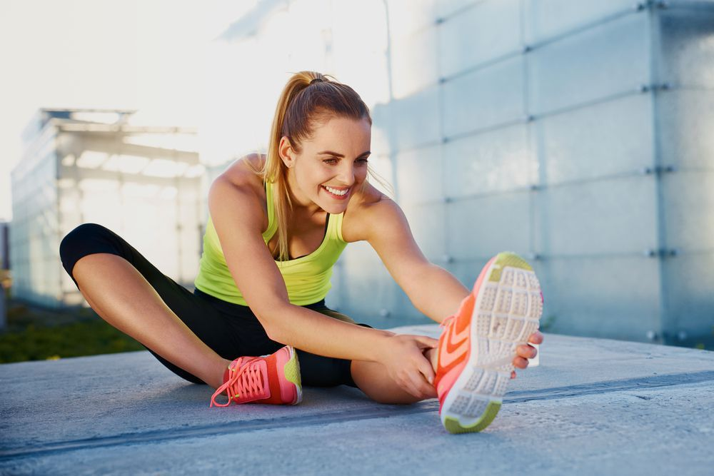 Stretching can help cure and prevent injuries.