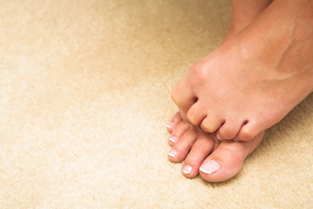 Consult your podiatrist about your hammertoes and how you can sure them.