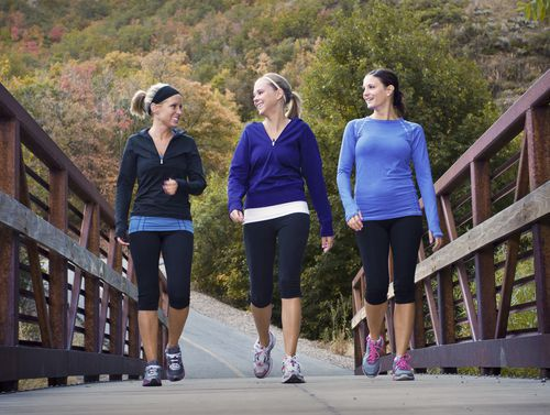 Even a simple walk with friends can help combat Peripheral Artery Disease.