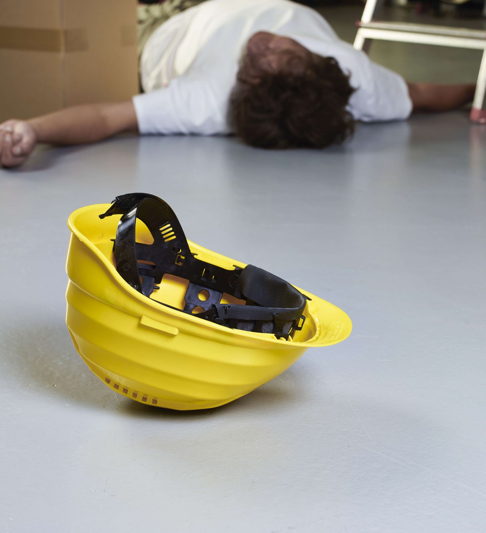 Injured Worker At Nuclear Power Plant