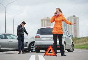 reporting a car accident