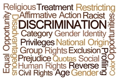 A Variety of Words to Describe Discrimination