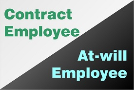 An implied contract gives you specific rights in the workplace and may distinguish you from an at-will employee