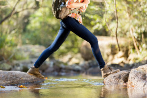Walking is easier with custom orthotics