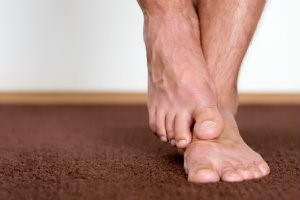 Tingling and burning sensations in feet