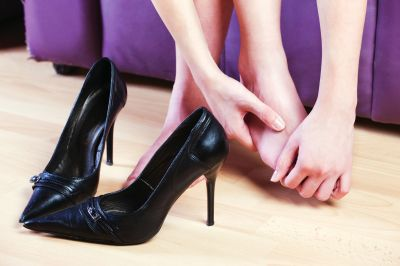 High Heels is a Common Cause of Hammertoe Pain.