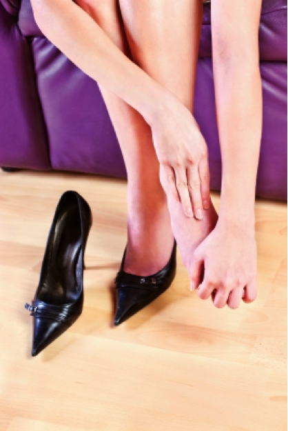 Bunion Pain from High Heels