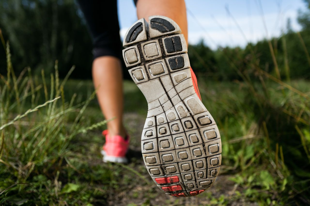 The soles of your shoes tell a story about your gait.