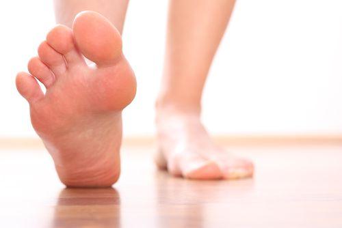 tingling feet