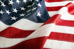 Flowing American Flag