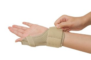 Carpal Tunnel Brace on a Wrist