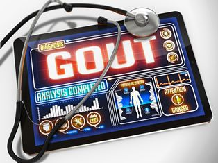 Tablet With a Gout Analysis