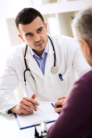 Doctor Meeting With an Older Patient