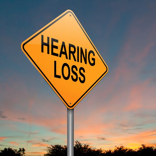 Yellow Hearing Loss Sign